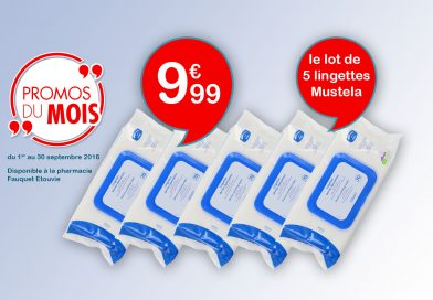 Mustela Promotion exceptionelle!