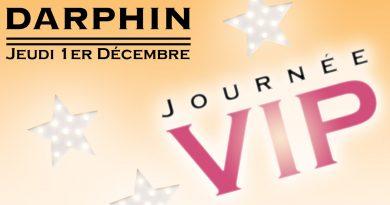 Journée VIP Darphin