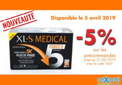 Nouveauté: XL-S Médical Force 5