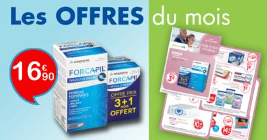 Les Offres Pharmavie d'Octobre