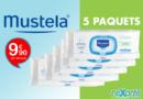 Mustela Lingettes : 5 Paquets pour 9€90