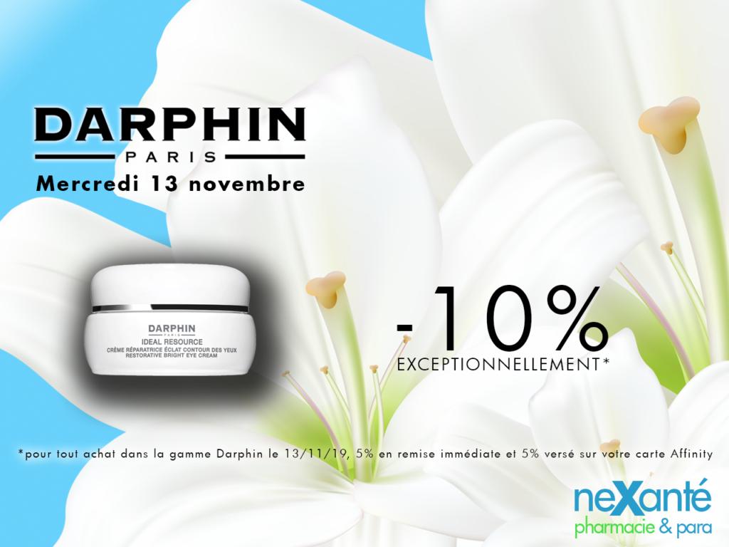 Journée spéciale DARPHIN 13 Novembre