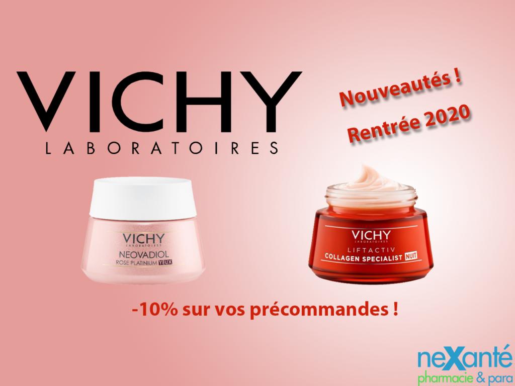 Nouveautés Vichy !
