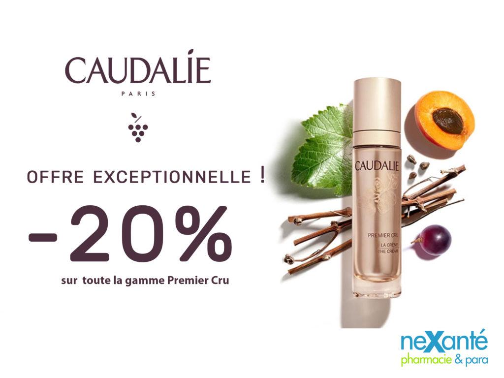 OFFRE EXCEPTIONNELLE !! -20% sur toute la gamme Premier Cru Caudalie !!