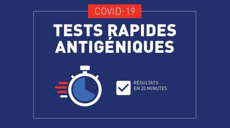 Test Antigénique sur RDV !